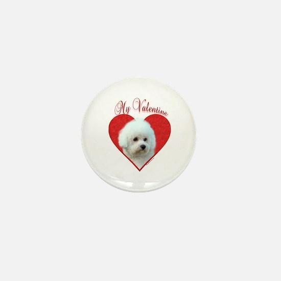 Bichon Valentine Mini Button
