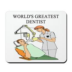 dentist gifts t-shirts Mousepad