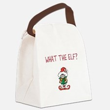 WHAT THE ELF? Canvas Lunch Bag
