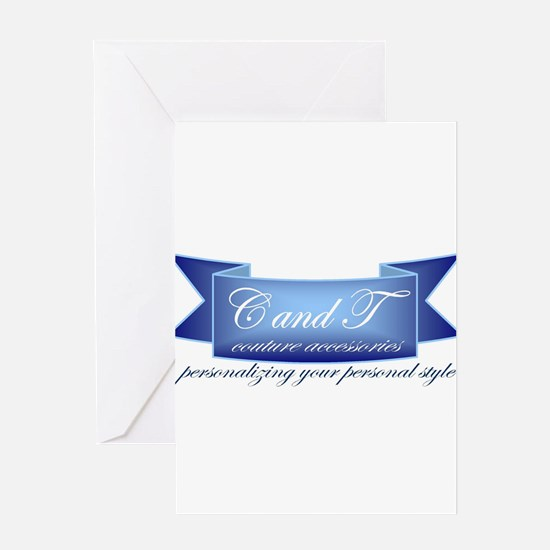 C and T Logo Greeting Cards
