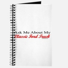 """""""Ask Me About My Ford Truck"""" Journal"""