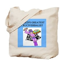 crosswords gifts t-shirts Tote Bag
