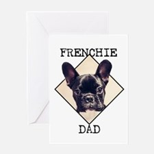 Frenchie Dad Greeting Cards