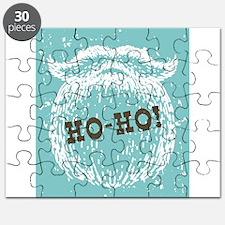 Ho-Ho Christmas Holiday Santa Noel Puzzle