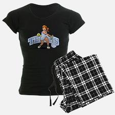 Tennis - Hit'm hard T-Shirt Pajamas