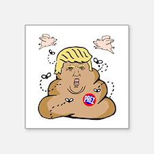 """Prez Trump Square Sticker 3"""" x 3"""""""