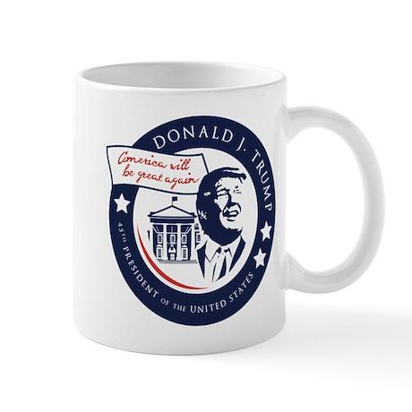 Trump 45th President Mug
