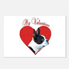 Boston Valentine Postcards (Package of 8)