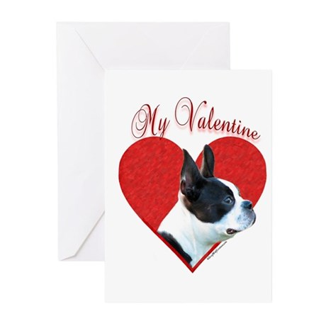 Boston Valentine Greeting Cards (Pk of 10)