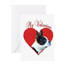 Boston Valentine Greeting Card
