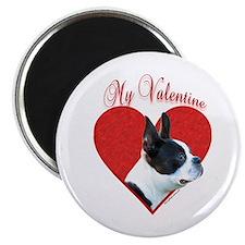 "Boston Valentine 2.25"" Magnet (100 pack)"