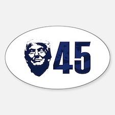Trump 45 Decal