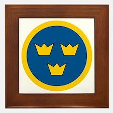 Cute Sweden Framed Tile