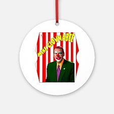 Mike Huckabee (Clownabee) Ornament (Round)