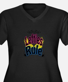 Lefties Rule Plus Size T-Shirt