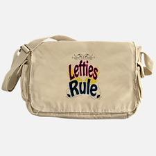 Lefties Rule Messenger Bag