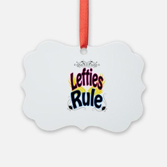 Lefties Rule Ornament