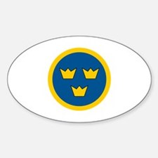 Cute Government force Sticker (Oval)