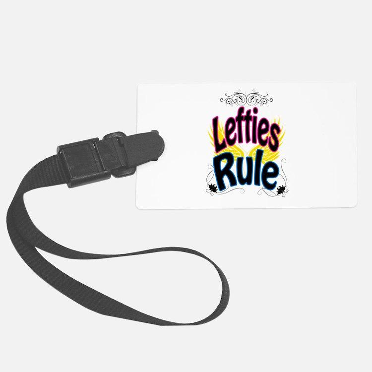 Lefties Rule Luggage Tag