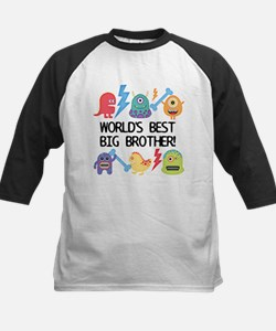 Monsters World's Best Big Brother Baseball Jersey