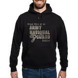 Army national guard Dark Hoodies
