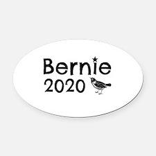 Bernie! Oval Car Magnet