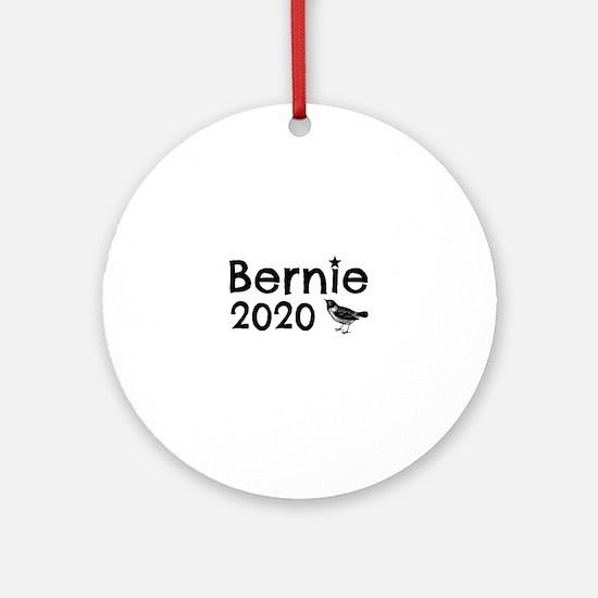 Bernie! Round Ornament