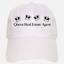 QUEEN Real Estate Agent Baseball Baseball Cap for the Realtor