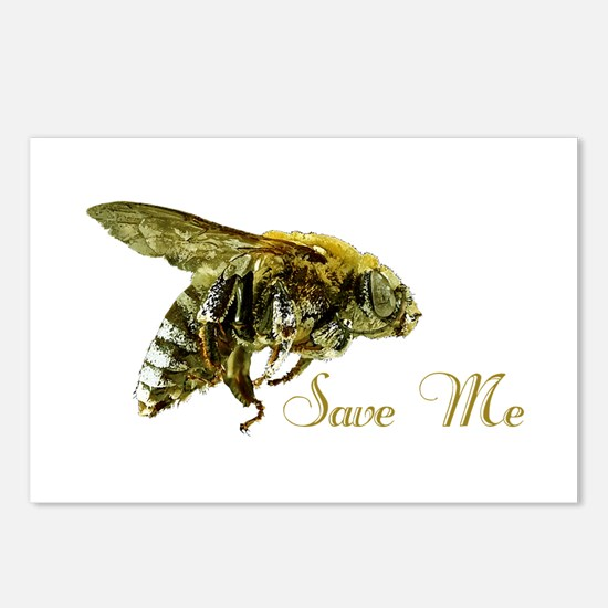 Save Me Bee Postcards (Package of 8)