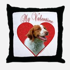 Brittany Valentine Throw Pillow