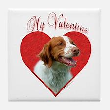 Brittany Valentine Tile Coaster