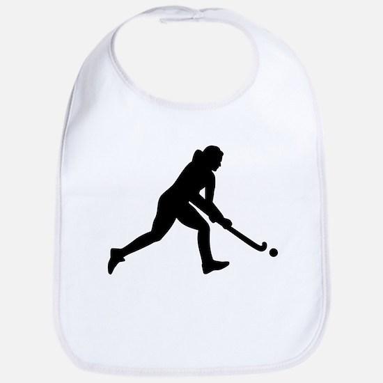 Field hockey girl Bib