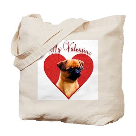 Brussels Valentine Tote Bag