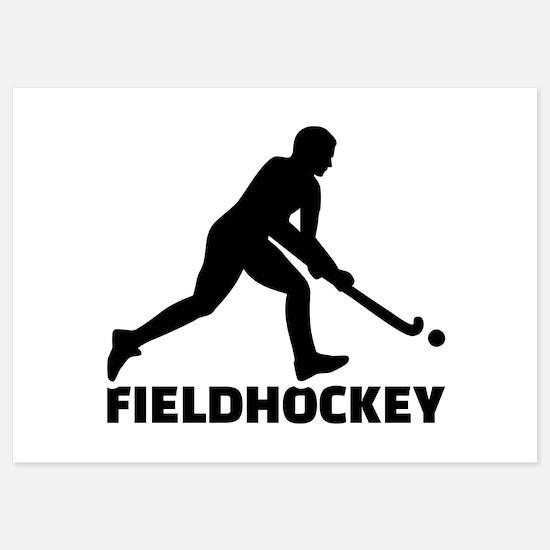 Field Hockey Invitations Field Hockey Announcements Invites - Custom field hockey car magnets