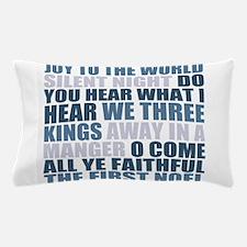 Christmas Songs Pillow Case