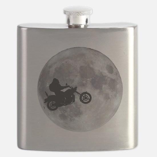 Cute Bigfoot moon Flask