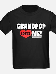 Grandpop Loves Me T