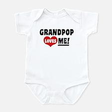 Grandpop Loves Me Infant Bodysuit