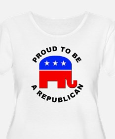 ProudRepublican10X10 Plus Size T-Shirt