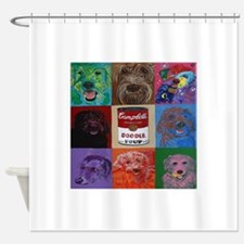 Doodle Soup Shower Curtain