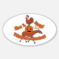 Merry Thanksgivoweenmas Decal