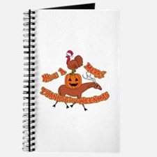 Merry Thanksgivoweenmas Journal