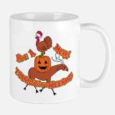 Merry Thanksgivoweenmas Mugs