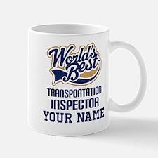 Transportation Inspector Personalized Gift Mugs