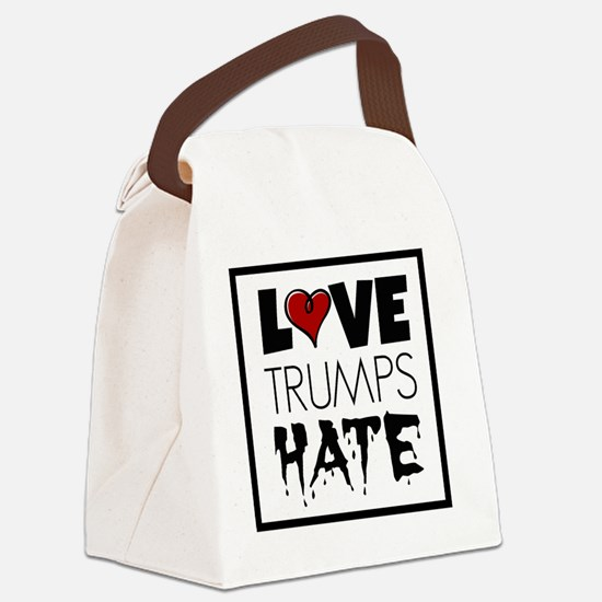Unique Marriage equality Canvas Lunch Bag