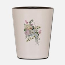 French Flower Market Paris Roses Peony Shot Glass