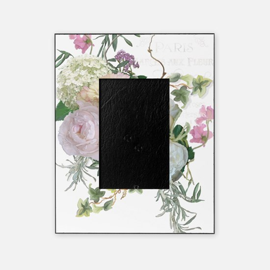 French Flower Market Paris Roses Peo Picture Frame