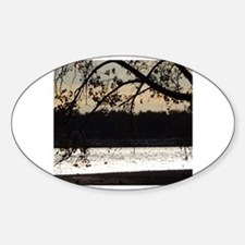 Cute Travel cup Sticker (Oval)
