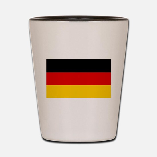 Flag of Germany - Bundesflagge und Hand Shot Glass