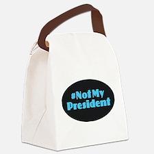 Not My President - #NotMyPresiden Canvas Lunch Bag